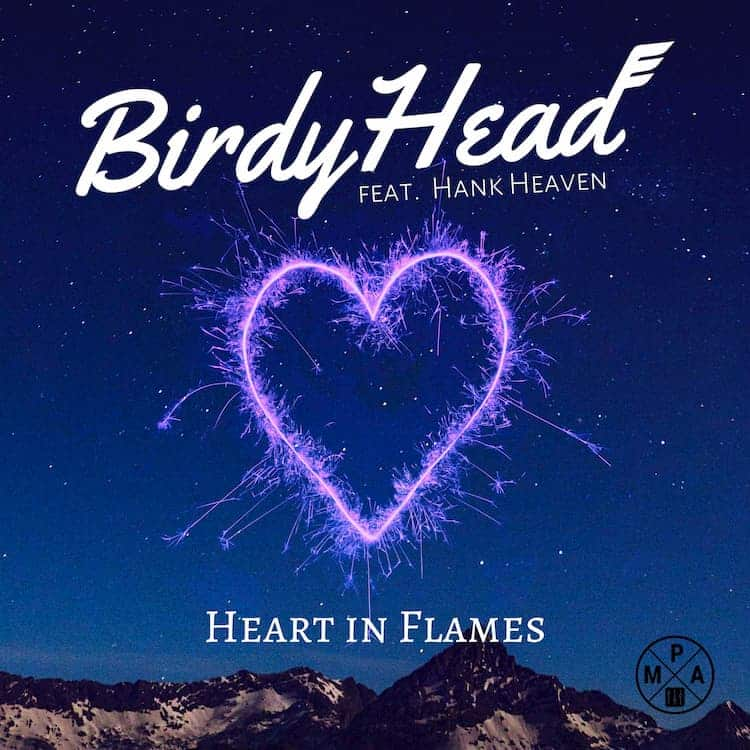 BirdyHead - Heart in Flames cover art